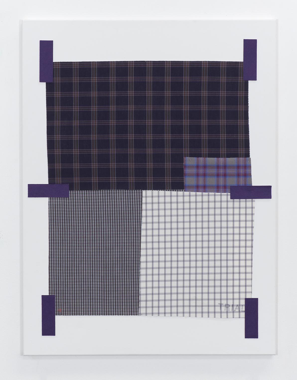 Nicole Ellis, Off-White  Purple Swatch, 2020
